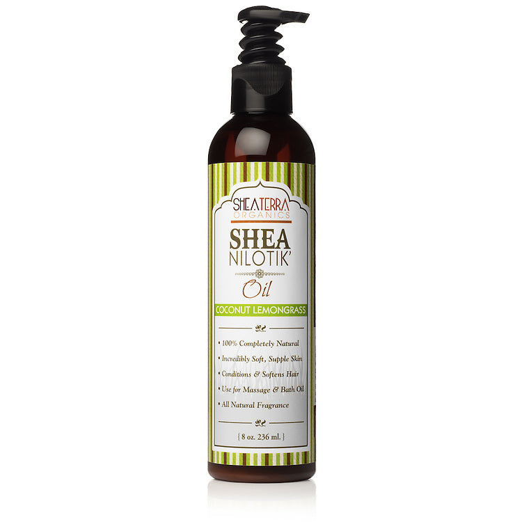Shea Nilotik' Body Oil COCONUT LEMONGRASS