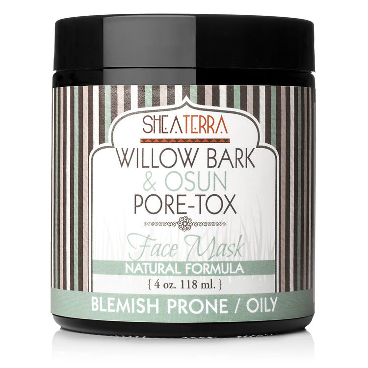 Willow Bark & Osun Pore-Tox Face Mask (4 oz.)