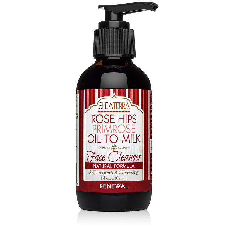 Rose Hips Primrose Oil to Milk Face Cleanser (4 oz.)
