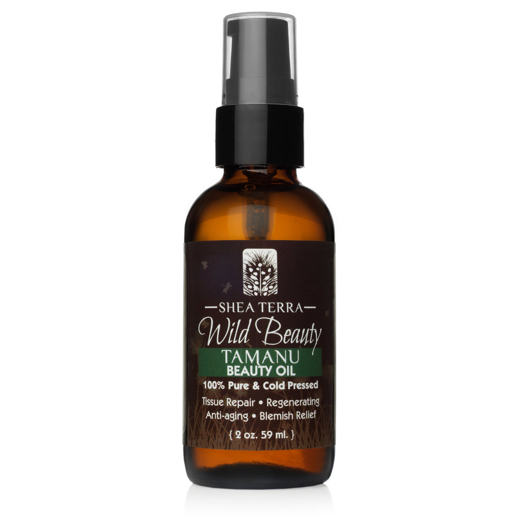 Wild Beauty Tamanu Cold Pressed Beauty Oil  2oz