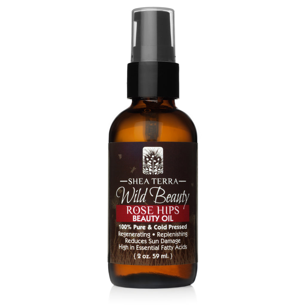 Wild Beauty Rose Hips Cold Pressed Beauty Oil 2oz