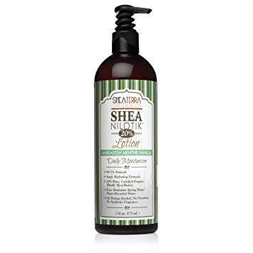 Shea Nilotik Body Lotion Marrakesh Menthe Vanilla 16 oz