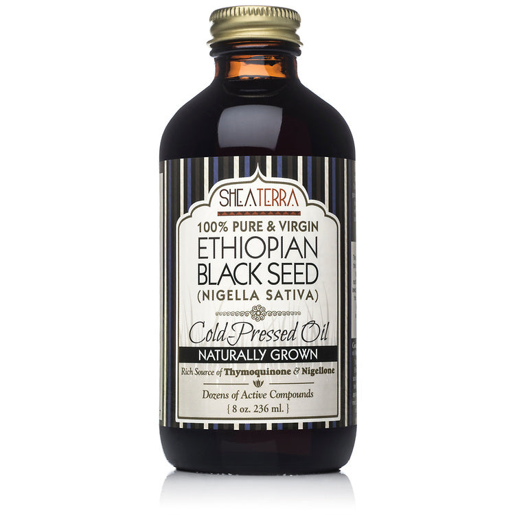Ethopian Black Seed Oil (Naturally Grown, Cold Pressed) 8 oz.