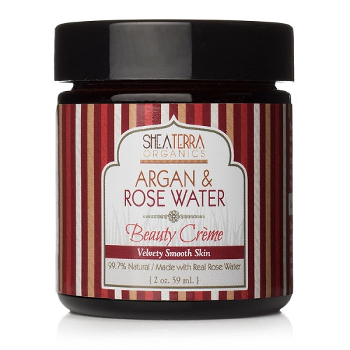 Argan & Rose Water Beauty Creme (2oz)