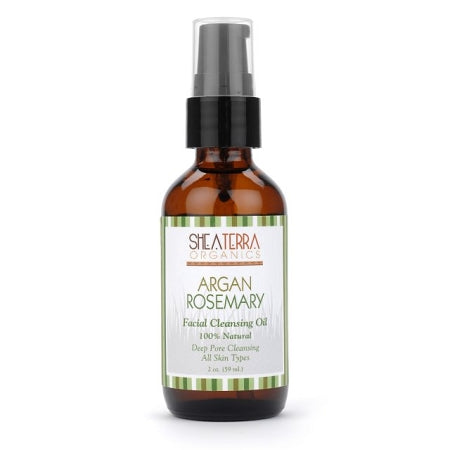 Argan & Rosemary Facial Cleansing Oil (2 oz.)