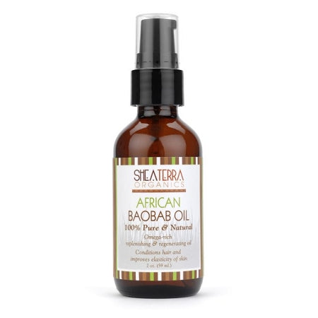 NEW African Baobab Oil (100% Pure Organic) 2oz