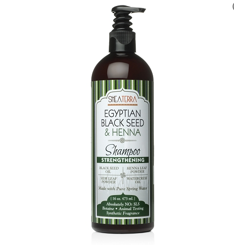 Egyptian Black Seed & Henna Natural Shampoo (STRENGTHENING)
