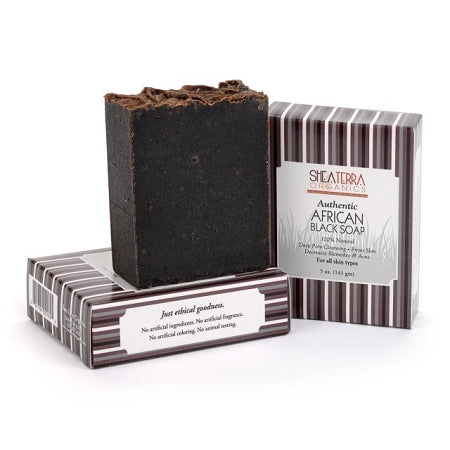 NEW Authentic African Black Soap Bar 4oz