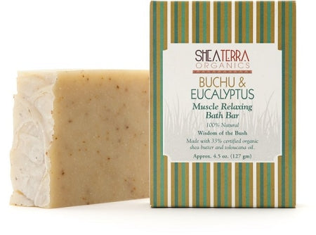 Buchu & Eucalyptus Muscle Relaxing Bath Bar