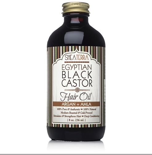 Egyptian Black Castor Oil (ARGAN + AMLA)