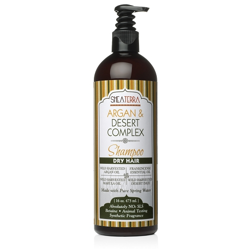 Argan & Desert Complex Natural Shampoo (DRY HAIR)