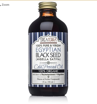 Black Seed Oil (Certified Organic, Egyptian, Cold Pressed) 8 oz