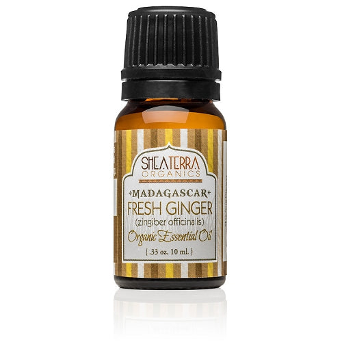 Madagascar Fresh Ginger Essential Oil (Certified Organic)