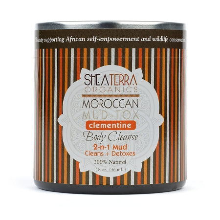 Moroccan Mud-Tox Body Masque (8oz.) Clementine