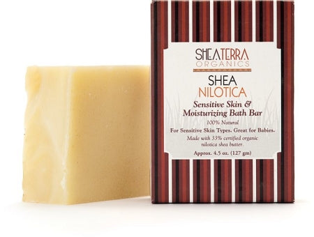 Shea Nilotica (Nilotik) Sensitive Skin & Moisturizing Bath Bar