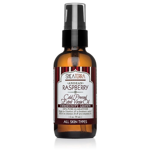 Raspberry Extra Virgin Oil  100% Pure Andean  (Cold Pressed, Community Grown)