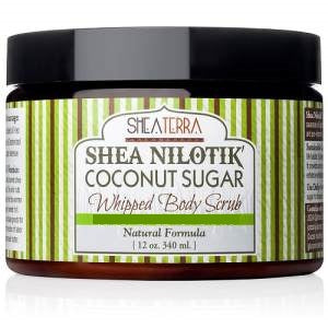 Shea Nilotik' Whipped Body Scrub MARRAKESH MENTHE VANILLA (12 oz.)