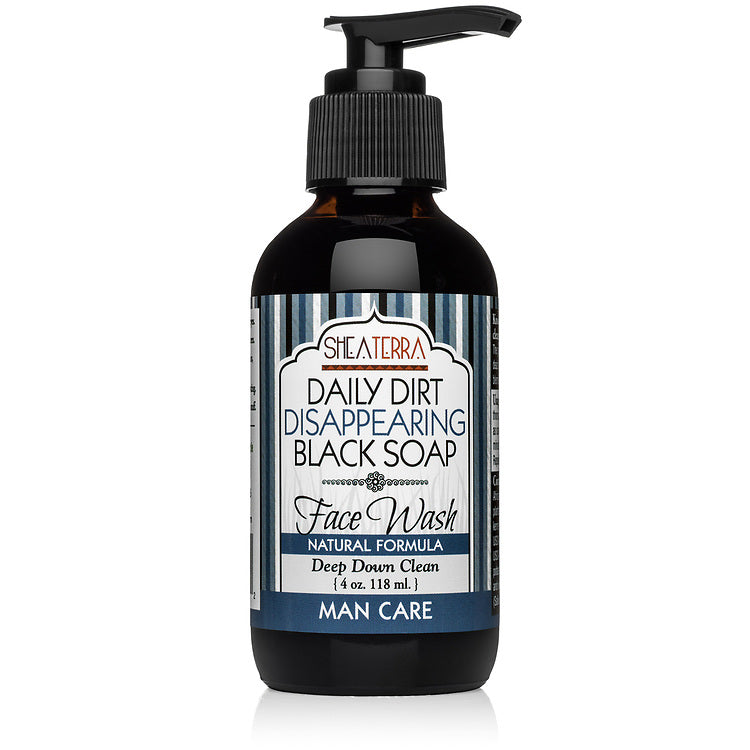 Daily Dirt Disappearing Black Soap Face Wash (4 oz.) MAN CARE