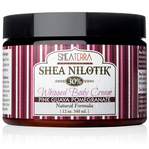 Shea Nilotik' Body Cream PINK GUAVA POMEGRANATE  (12oz)