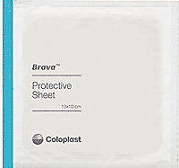 "Brava Skin Barrier Protective Sheets, 4"" x 4"""