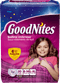 Goodnites Youth Pants for Girls Large/X-Large, Mega Pack