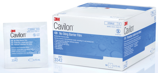 3M Cavilon No-Sting Barrier Film Wipe