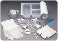 Tracheostomy Care Tray with Peroxide and Saline
