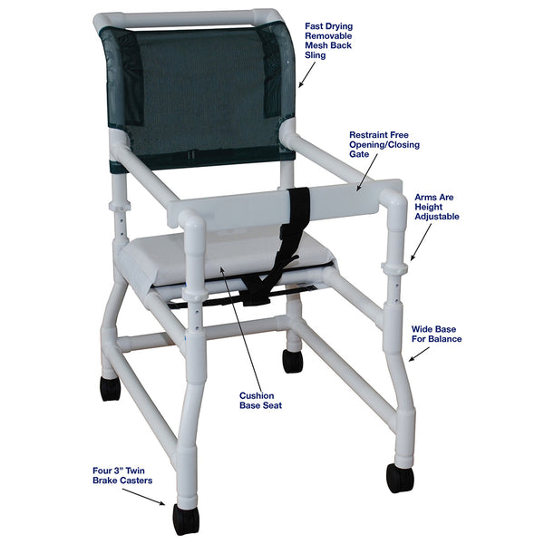 MJM International Standard Walker Chair