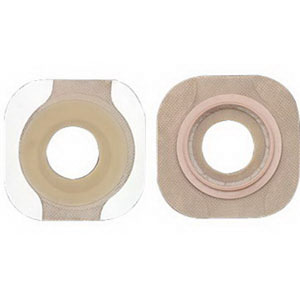 New Image 2-Piece Precut Flextend (Extended Wear) Skin Barrier 1-1/8""