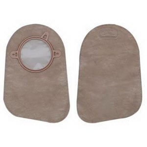 New Image 2-Piece Closed-End Pouch Beige