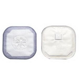 "Stoma Cap with Porous Cloth Tape Adhesive 3"" Opening 4-1/4"""