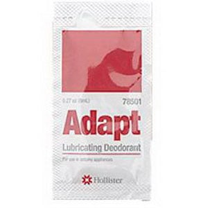 Adapt Lubricating Deodorant Sachet Packets, 1/4 oz.