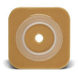 "Sur-Fit Natura Stomahesive Cut-to-Fit Wafer 4"" x 4"", 2-1/4"" Flange"