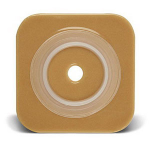 "Sur-Fit Natura Stomahesive Cut-to-Fit Wafer 5"" x 5"", 2-3/4"" Flange"