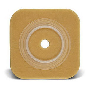 "Sur-Fit Natura Durahesive Cut-to-Fit Skin Barrier 4"" x 4"" without Tape, 1-3/4"" Flange"