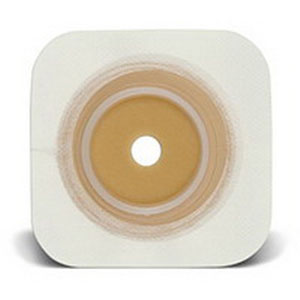 "Sur-Fit Natura Durahesive Cut-to-Fit Skin Barrier 4-1/2"" x 4-1/2"", 1-3/4"" Flange"