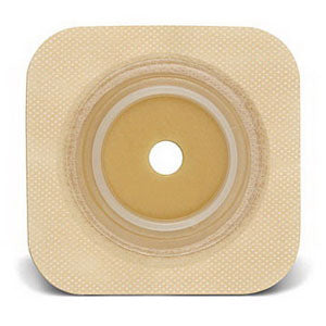 "Sur-Fit Natura Durahesive Cut-to-Fit Skin Barrier 4"" x 4"", 1-1/4"" Flange"