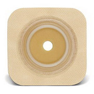 "Sur-Fit Natura Durahesive Cut-to-Fit Skin Barrier 4"" x 4"", 1-3/4"" Flange"