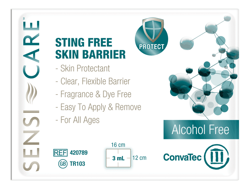 Sensi-Care Sting Free Protective Skin Barrier Wipes