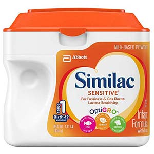 Similac Sensitive 1.45 Lb Can, Unflavored