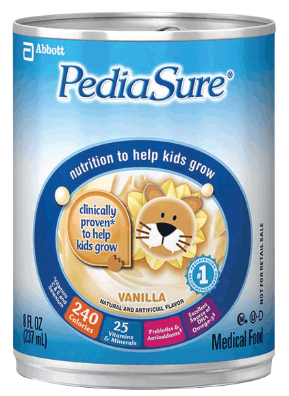PediaSure Vanilla 8 oz. Can