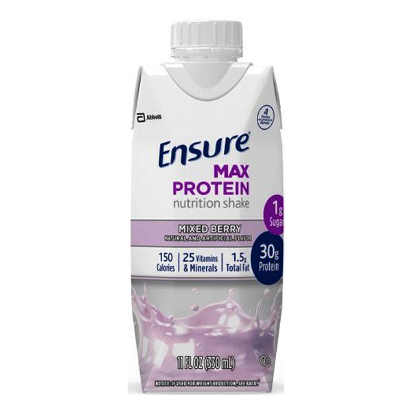 Ensure Max Protein, Mixed Berry, Ready-to-Drink, 11 oz.