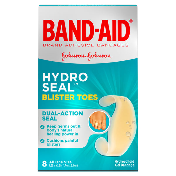 Band-Aid Hydro Seal Blister Toes, 8 ct