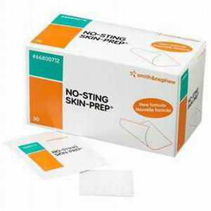 No-sting SKIN-PREP Protective Wipes