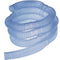 AirLife Corrugated Blue Tubing,  4' Segmented Every 6""