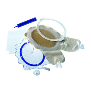 "2-Piece Fistula and Wound Management System, Mini 4-1/8"" - 6-1/4"""