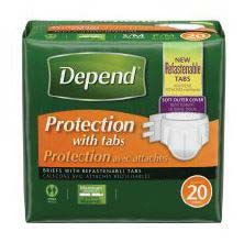 Depend Protection Brief with 4 Tabs