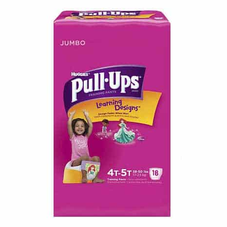Pull-Ups Learning Designs Training Pants 4t-5t, Girl Jumbo Pack
