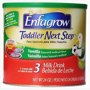 Enfagrow Toddler Next Step Powder 24oz Can, Vanilla