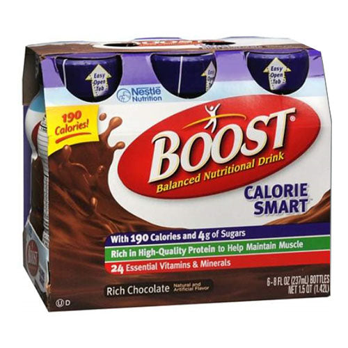 Boost Calorie Smart 8 oz., Chocolate Sensation